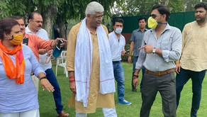 FIR against Union Minister for allegedly conspiring to topple Raj govt