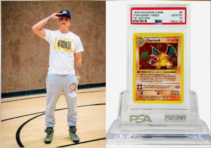 Logic purchased Pokémon card