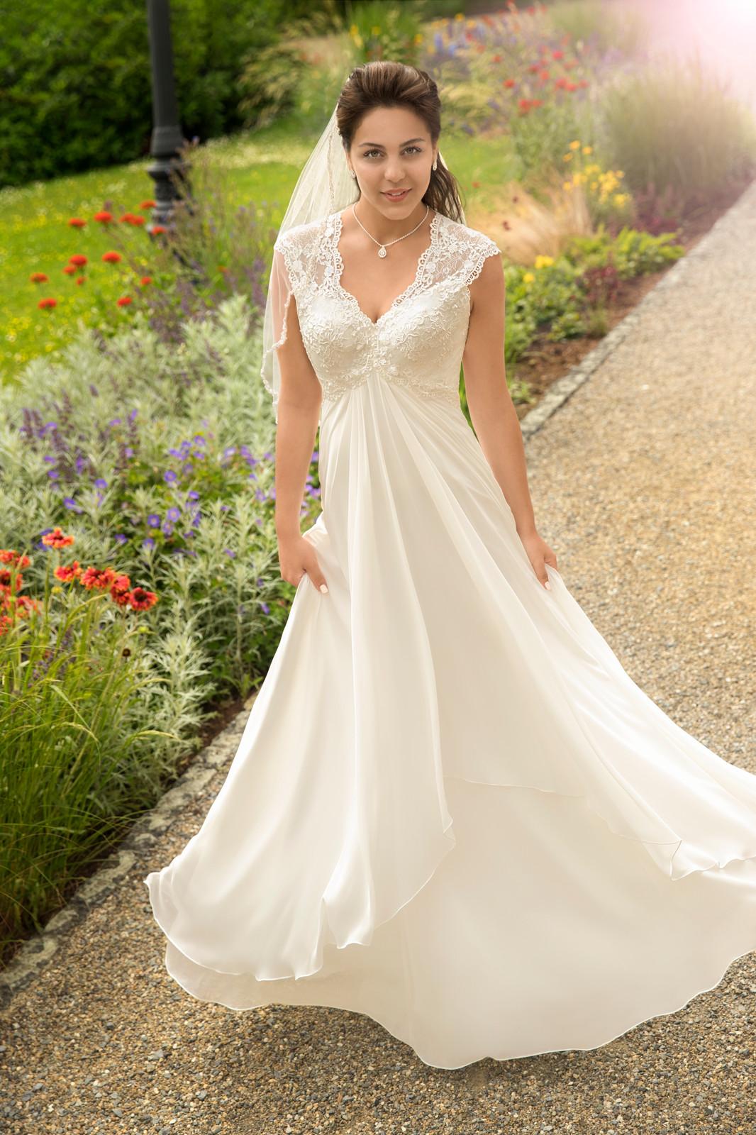 Umstandsbrautkleid Hochzeitskleid Schwangere Umstandsmode