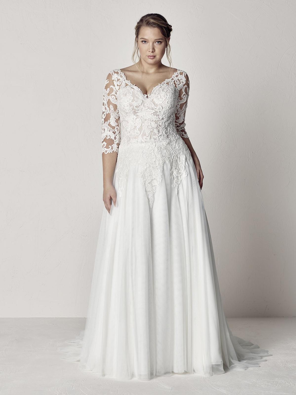 Hochzeitskleider Brautkleider Grosse Grossen Mollige Xxl