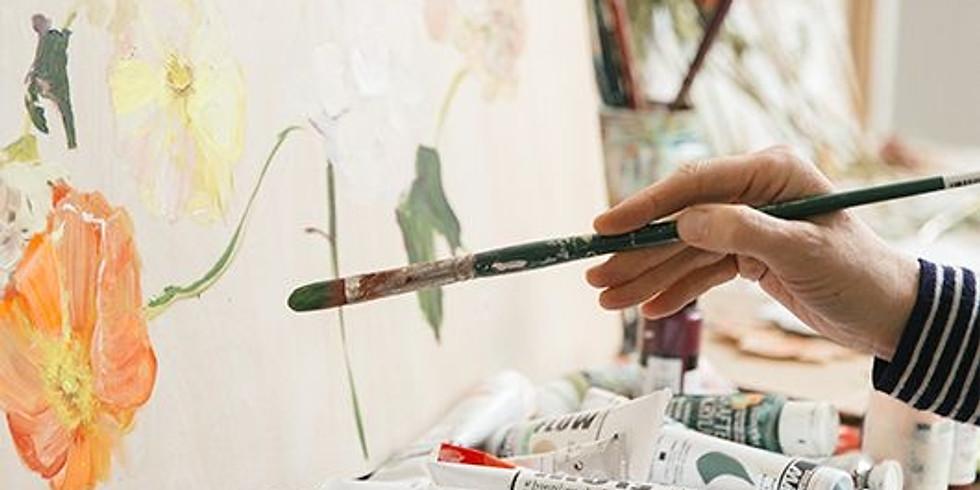 Curs de pictură in acrilic pentru adulți