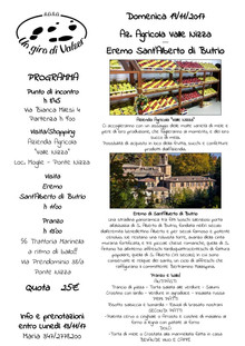 19 Novembre Gita all'Eremo di Sant'Alberto e pranzo danzante!