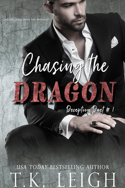 Signed Paperback of Chasing The Dragon