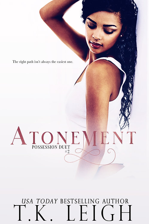 Signed Paperback of Atonement