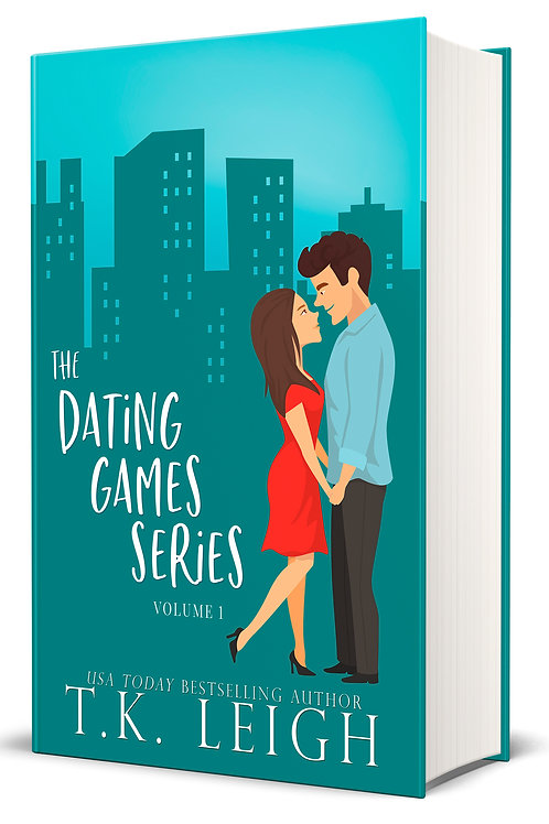 Signed Hardcover with Dust Jacket of the Dating Games Series (Volume One)