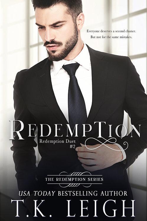 Signed Paperback of Redemption