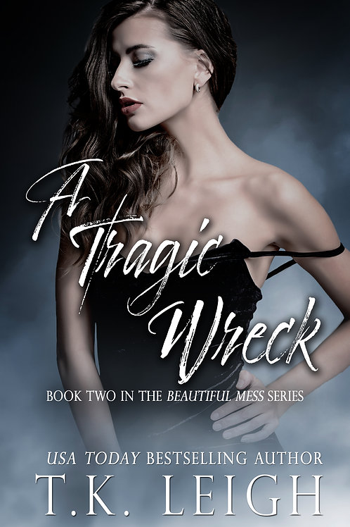 Signed Paperback of A Tragic Wreck