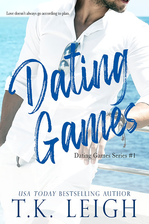 Signed Paperback of Dating Games