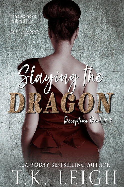 Signed Paperback of Slaying The Dragon