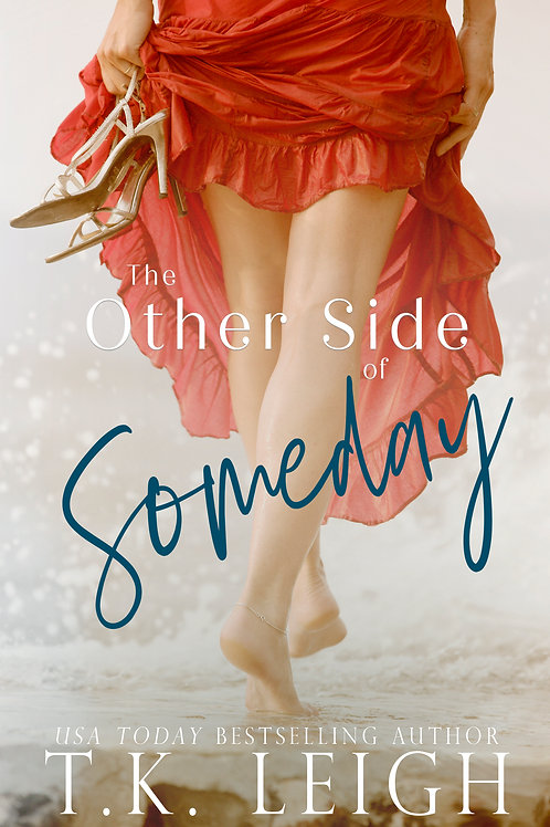 Signed Paperback of The Other Side Of Someday
