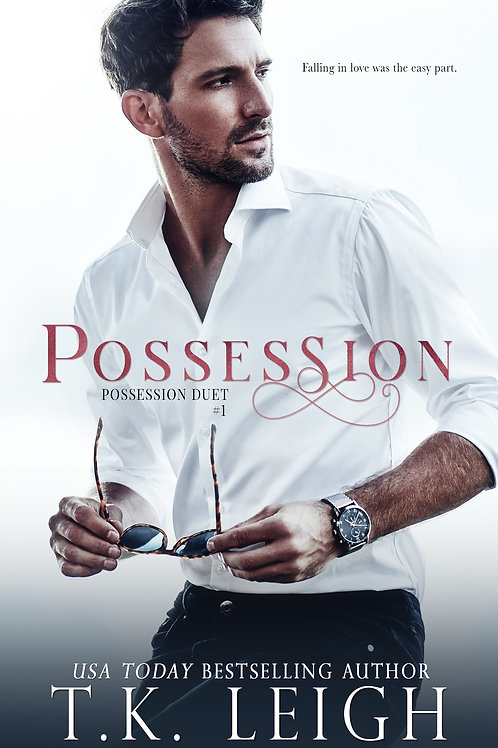 Signed Paperback of Possession (Updated Cover)