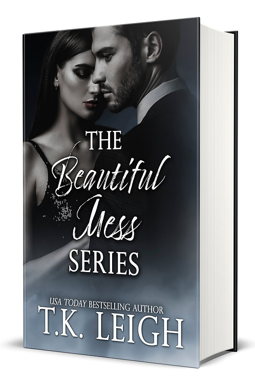Signed Hardcover with Dust Jacket of the Beautiful Mess Trilogy