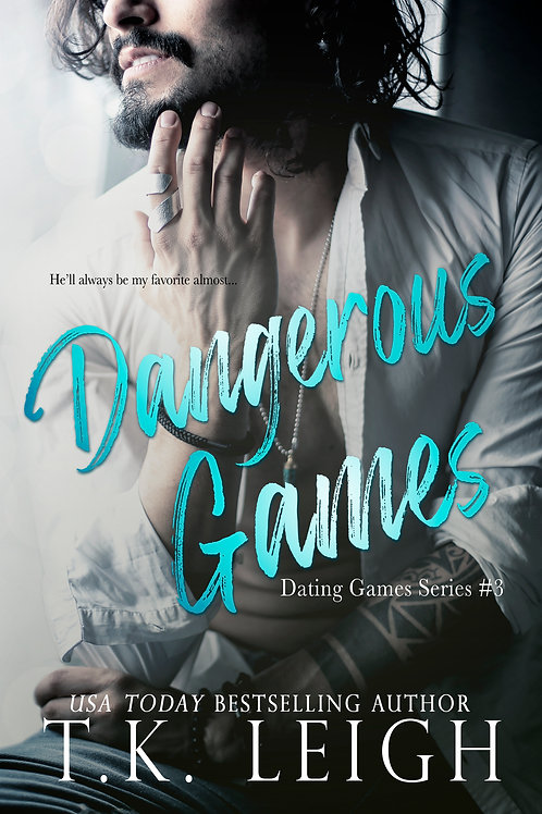 Signed Paperback of Dangerous Games