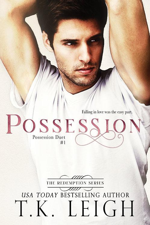 Signed Paperback of Possession (Original Cover)