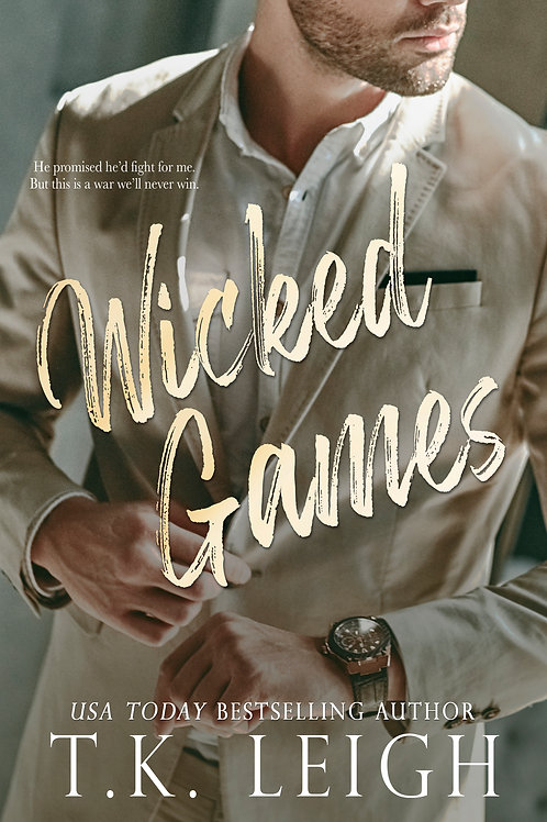 Signed Paperback of Wicked Games