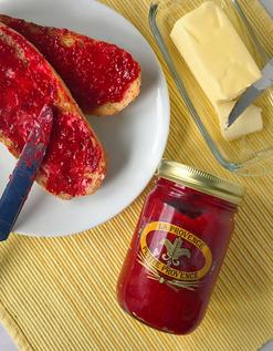 Petit Market Rasberry Jam and Baguette