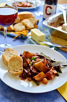 Beef Bourguinon Family Meal