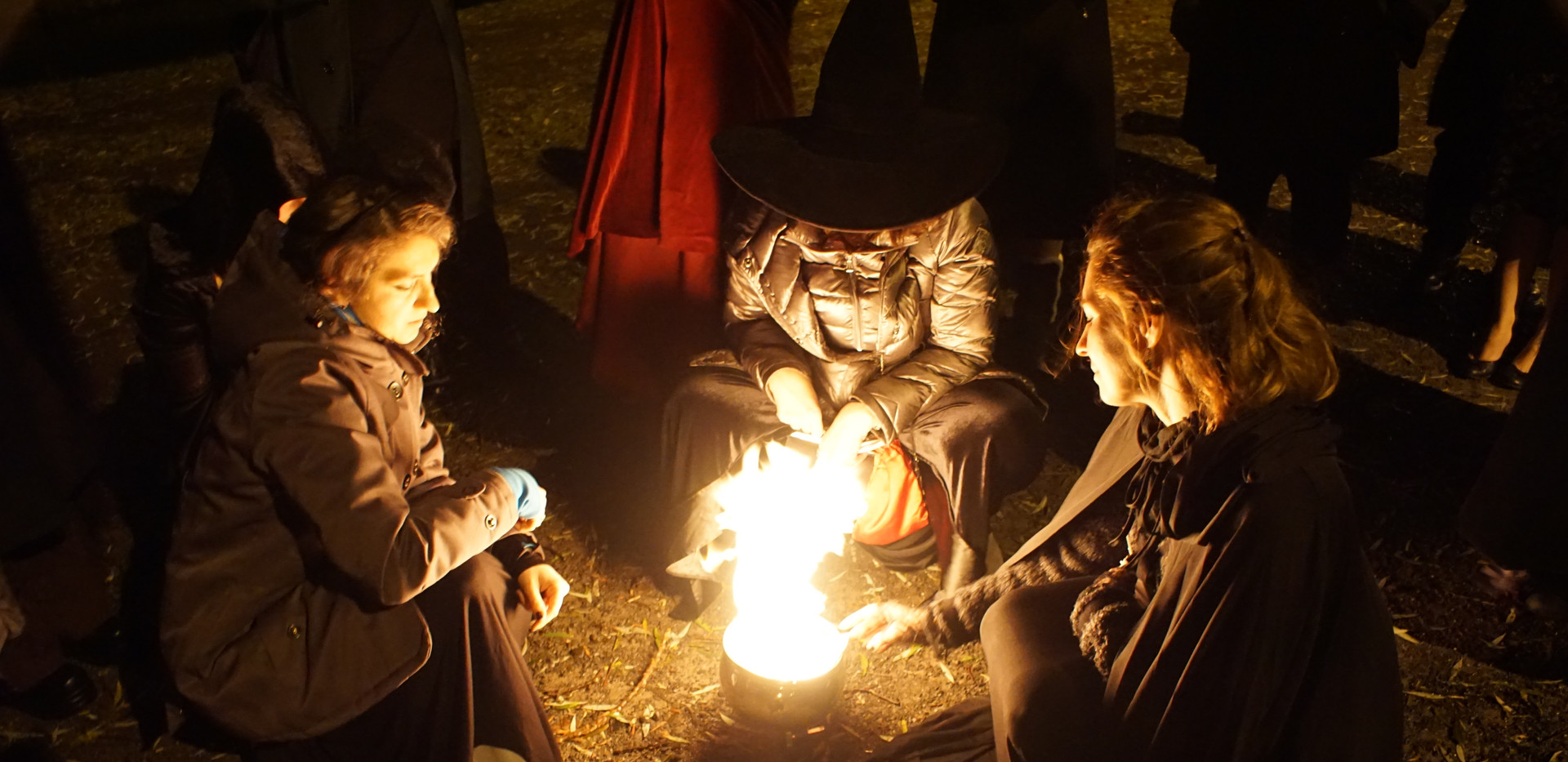 Le feu du rituel