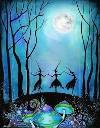 Samhain et Lune bleue 2020