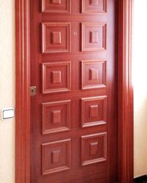 Puerta Blindada Plafonada de Sapelly