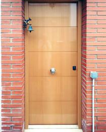 Puerta Blindada Haya Vaporizada