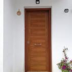 Puerta Blindada Nogal D50