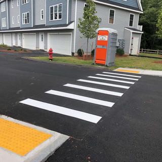 New Crosswalk Install