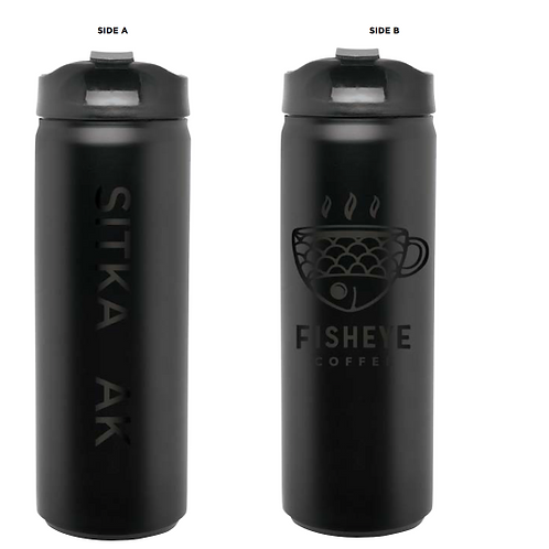 Fisheye Coffee Bottle