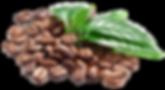 Fisheye coffee beans