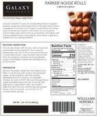 Williams Sonoma Packaging Label
