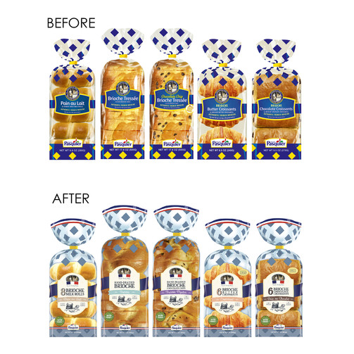 Packaging Design - Before & After