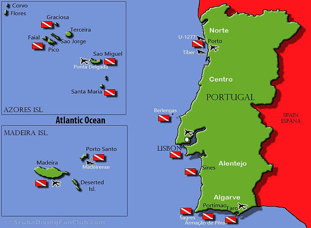 Diving-in-Portugal-Madeira-Azores-Map-Di