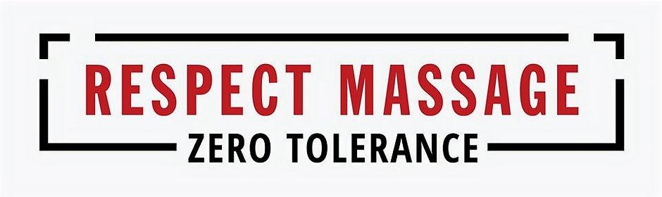 Respect Massage Zero Tolerance Cover Pic
