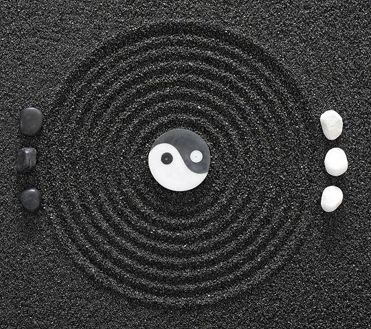 ying_yang_stones_abstract_black_sand_3d_