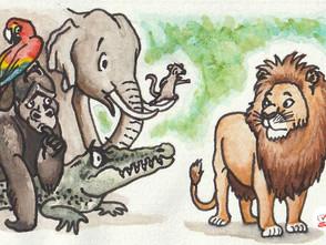 Pixi Books Illustration Contest 2019 ('De Koning van de Jungle') - illustration 1/3