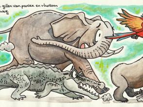 Pixi Books Illustration Contest 2019 ('De Koning van de Jungle') - illustration 3/3
