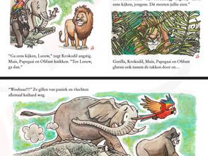Illustrations for Pixi Books Illustration Contest 2019