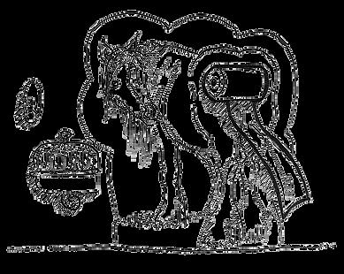Illustratie Dier-Object
