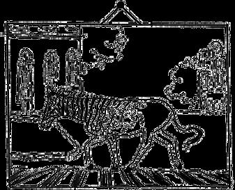 Illustratie Klassiek Dierportret