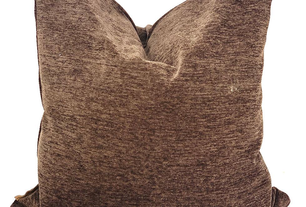 Chocolate Brown Heavy weight Pillow-Belarus