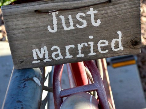 You should never have gotten married to begin with.