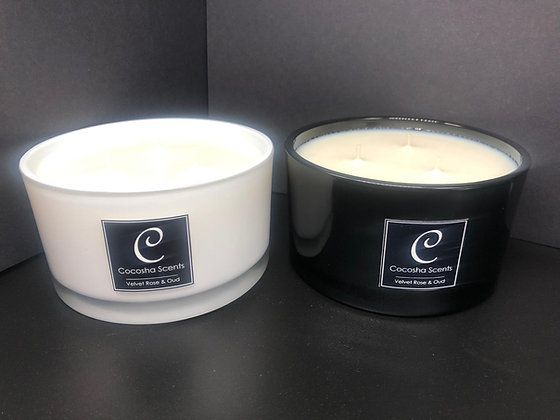 3 Wick Shallow Candle