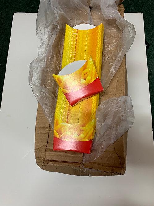850x Caja para papas fritas