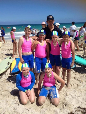 U11's first comp in Fremantle