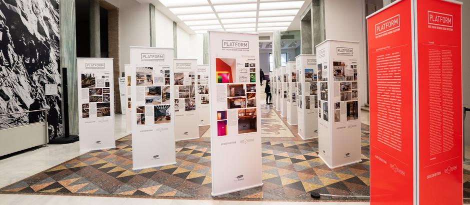 Grande successo per l'inaugurazione della mostra dedicata all'Interior Design Italiano