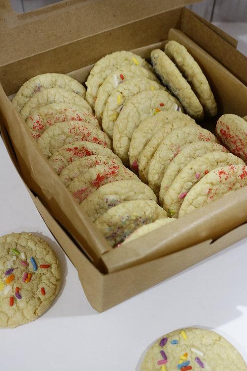Gluten and Dairy Free Sugar Cookies (24 cookies)