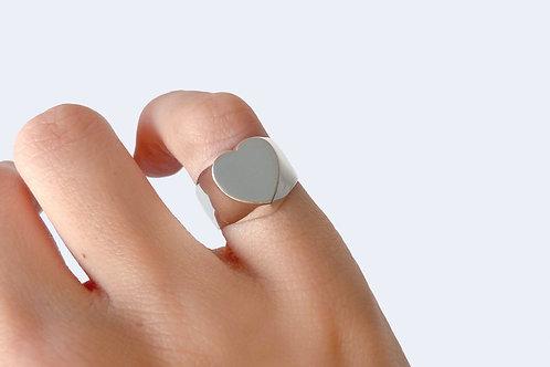 Little Finger Ring Heart