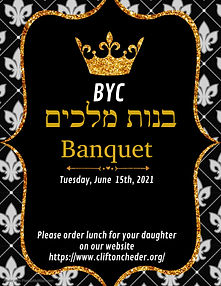 BYC banquet form
