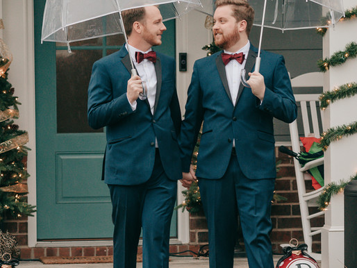Christmas Eve Wedding Wonderland | Brandon and Chase