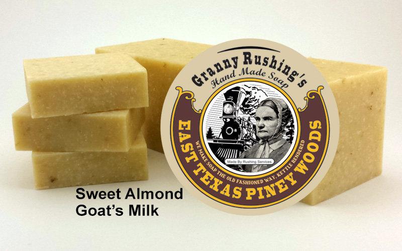 Sweet Almond Goat's Milk  5 oz